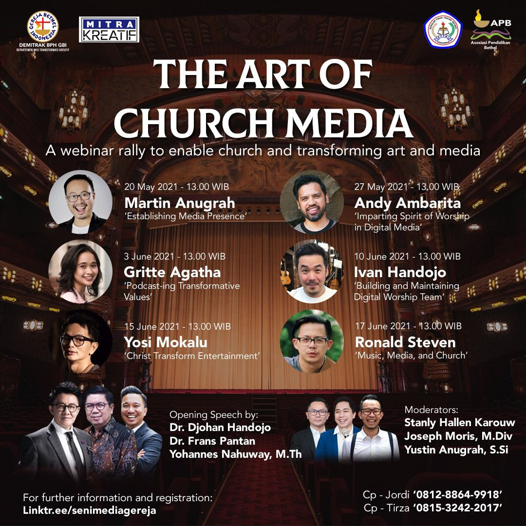 You are currently viewing THE ART OF CHURCH MEDIA